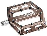 DMR Vault Pedale MTB flach, Nickel Grey/Black Pins, 9/16