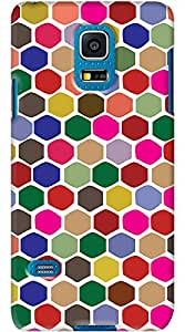 Kasemantra Colourful Pattern Case For Samsung Galaxy S5 Mini
