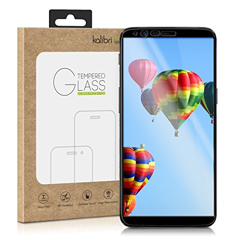 Echtglas-Displayschutz-fr-OnePlus-5T-Kalibri-3D-Schutzglas-Full-Cover-Screen-Protector-Case-Friendly-Glas-Folie-auch-fr-gewlbtes-Display-in-Schwarz