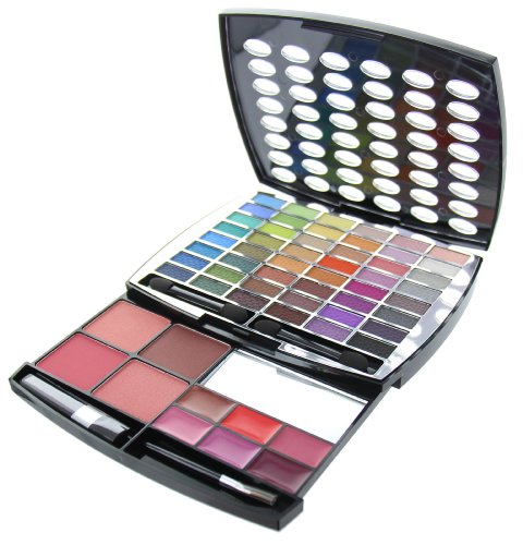 BR Beauty Revolution Glamour Girl Makeup Kit 43 Eyeshadow / 9 Blush / 6 Lip Gloss by (Für Kids Make Up Kits)