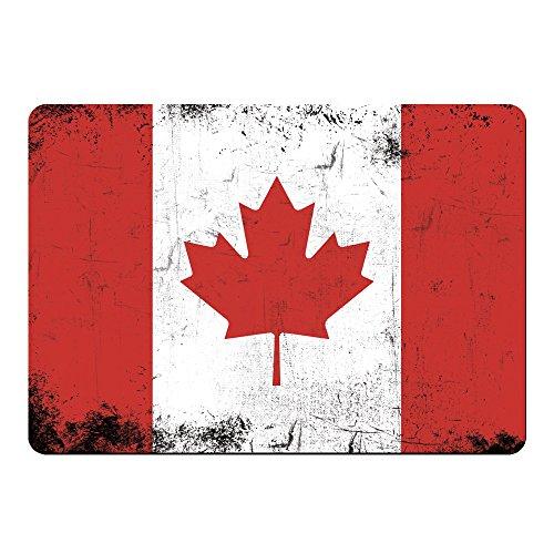 Mousepad Fahne Retro Kanada farbig -