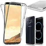 ebestStar - pour Samsung Galaxy S8 - Coque Intégrale Avant et Arrière Etui Housse Silicone Gel, Couleur Transparent [Dimensions PRECISES de votre appareil : 148.9 x 68.1 x 8 mm, écran 5.8'']