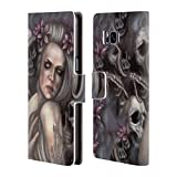 Head Case Designs Offizielle Tiffany tito Toland-Scott Danse Macabre Dark Gothic Fantasy Brieftasche Handyhülle aus Led