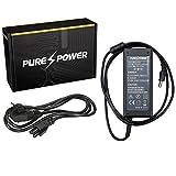 PUREPOWER Chargeur d'alimentation ordinateur portable pour Samsung NP370 avec EU câble d'alimentation libre (19V, 3.15A, 60, 5.5 - 3.0)