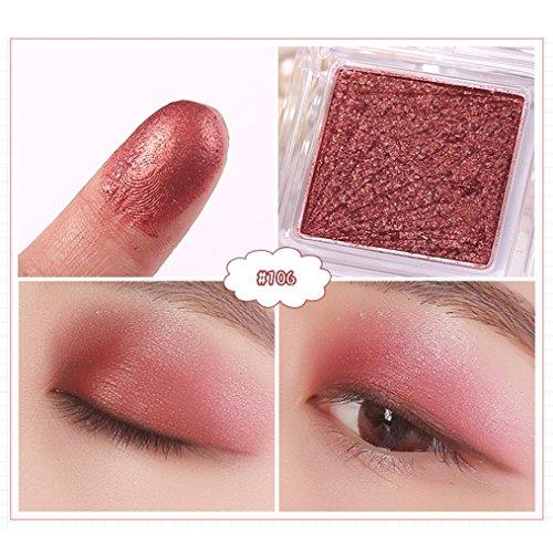 zahuihuiM, 1 Maquillage de couleurs Ombre à paupières Palette Shimmer Matte Ombre à paupières Cosmétiques Beauté Nouveau (F)