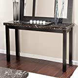Galassia Faux Marble Console Table by Weicheng (HK) Industrial Trade Co Ltd