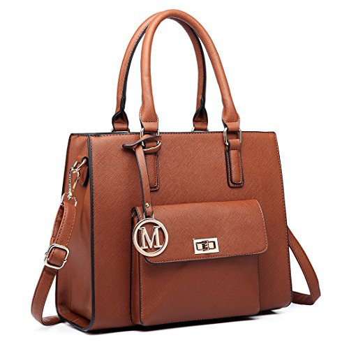 Miss Lulu - Sacchetto donna 6635 Brown