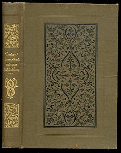 neuland,,ein Sammelbuch moderner Prosadichtung, mit Beiträgen von Otto Julius Bierbaum u.a.;
