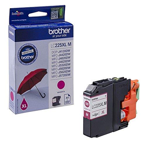 Preisvergleich Produktbild Brother Original Tintenpatrone LC-225XL M (magenta) (für Brother DCP-J4120DW, MFC-J4420DW, MFC-J4620DW, MFC-J4625DW, MFC-J5320DW, MFC-J5620DW, MFC-J5625DW, MFC-J5720DW)