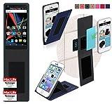 reboon Hülle für Archos Diamond 2 Note Tasche Cover Case Bumper | Blau | Testsieger