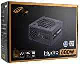FSP 4711140489742 Power supply for PC from 600 Watt, Black