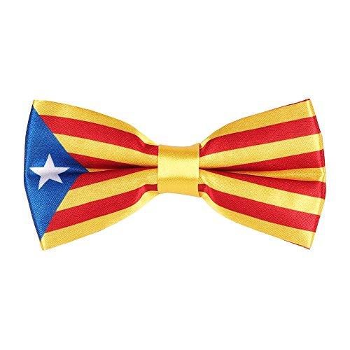 Fliege Katalanische Flagge - Flagge Katalonien La Senyera