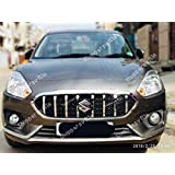 Shoppersville Premium Quality front grill for Maruti Suzuki Dzire 2017 onwards (GT-I style)