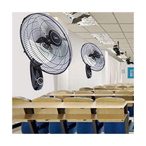 Wall-mounted-fan-Ventilador-inclinacin-Ajustable-Simple-y-Lujosa-Funcionamiento-silencioso-Ventilador-de-Aluminio-110-vatios-de-Potencia-18girando-90-Grados-Ajuste-Negro-de-3-velocidades