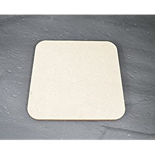 Blank Coaster 10 pack - MDF, paintable 100mm x100mm x 4mm