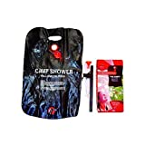 20 Litre Outdoor Portable Solar Powered Camping Shower Camp Festival Fishing Beach