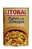 LITORAL Fabes con Almejas, Plato Preparado Sin Gluten - 400 gr