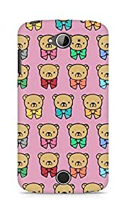 Amez designer printed 3d premium high quality back case cover for Acer Liquid Z530 (Bears multicolored graphic background)