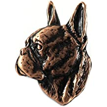 Rame ~ ~ Premium Bulldog inglese spilla/spilla ~ DC072PR