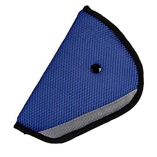Tonsee Auto Kindersitz Safety Cover Schulter Bandhalterung Adjuster beständig zu schützen (blau)