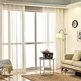 GUOCAIRONG® Moderne Tüllvorhänge für Wohnzimmer Fensterabschirmung Vogelblätter Vorhänge für Wohnzimmer Schlafzimmer Kinder Vorhänge 1 Stk , 3*2.7m