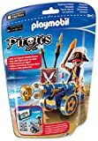 Playmobil 6164 - Blaue App-Kanone mit Piraten-Offizier