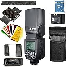 Godox V860II-O Flash Speedlite con Incorporado 2.4G con TTL Flash Automático + Li-on Batería + Flash Difusor Softbox para Olympus Y Panasonic DSLR Cámaras (V860II-O)