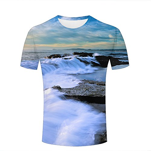 Wellcoda SchöN In Farbe Women's Clothing Clothes, Shoes & Accessories New Wave Sea Ocean Nature Women Long Sleeve T-shirt New