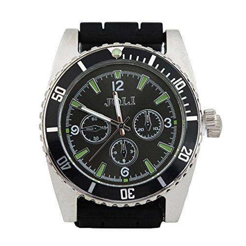 Amcool Herren Multifunktionale Uhr Legierung Armbanduhr Kräuter-Gewürz-Tabak-Grinder-Zigaretten-Zerkleinerungsmaschine