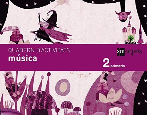 Quadern música. 2 Primària. Saba - 9788467579352