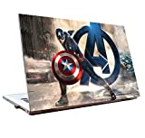 Tamatina Laptop Skins 17.5 inch - Avengers - Captain America - Movie Skin - HD Quality - Dell-Lenovo-Acer-HP