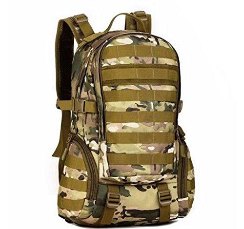 Mefly 35L Daypack Zaino Militare Marcia Scuola Studente Sacchetto Assault Pack Zaino Per Escursione Khaia Viaggi cp