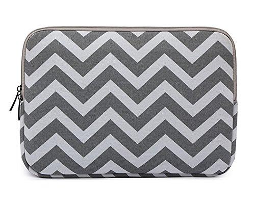 Chevron Style Tissu de Toile Housse pour Ordinateur Portable / Netbook / MacBook / Ipad