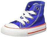 Converse Unisex Baby CTAS HI Hyper ROYAL/Bright Poppy/White Hausschuhe, Blau 483, 22 EU