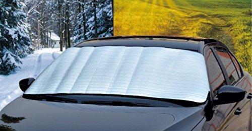 Preisvergleich Produktbild Auto Sonnencreme Sonnenschutz Isolierung Windschutzscheibe Sonnenblende Auto reflektierende Kühlergrill, A, 130 * 60cm