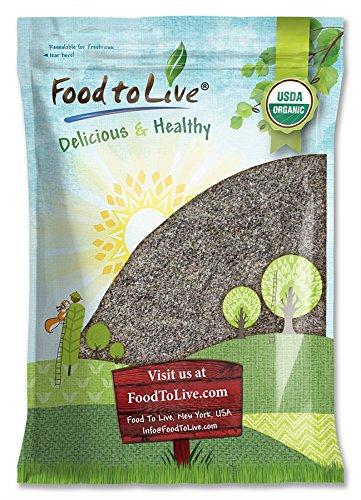 Bio Chia Mehl durch Food to Live (Nicht-GVO, Masse, Koscher) - 10 Pfund
