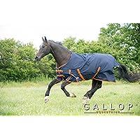 Gallop Trojan - Manta de caballo sin cuello, 100g - EU 125cm