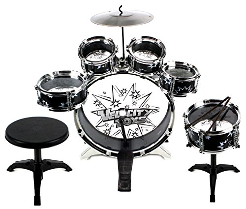 11-piece-kids-dum-set-childrens-musical-instrument-drum-play-set-w-6-drums-cymbal-chair-kick-pedal-d