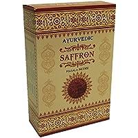 Räucherstäbchen Räucherwerk Ayurvedisches Masala - Safran Pack von 12x12 = 144 Stäbchen in Indien Handgerollt preisvergleich bei billige-tabletten.eu