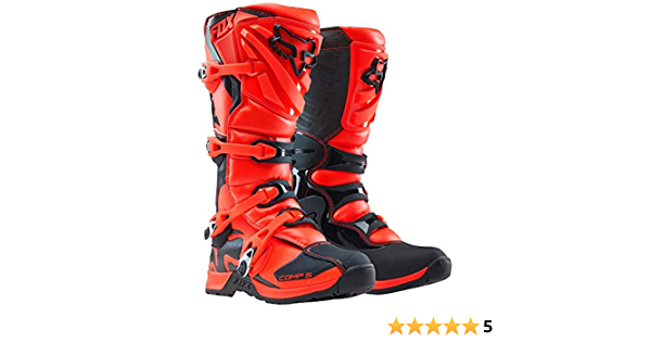 Fox Kids Motocross Stiefel Comp 5y Orange Gr 37 5 Auto