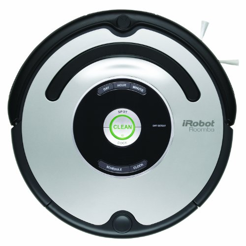 IROBOT 560 ROOMBA VACUUMING ROBOT  BLACK AND SILVER(VERSIN EE UU   IMPORTADO)