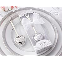 Tea Time Heart Tea Infuser in Elegant White Gift Box -48 count by Kate Aspen preisvergleich bei billige-tabletten.eu