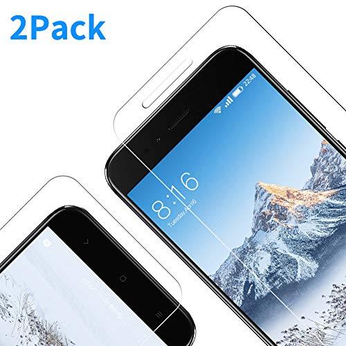 Vkaiy Xiaomi Mi A1/ 5X Pellicola Protettiva in Vetro Temperato - [Durezza 9H] [Alta Trasparente] [Nessuna Bolla] [Anti-Impronte] [ Antigraffi], Facile da Installare, [2 Pezzi]