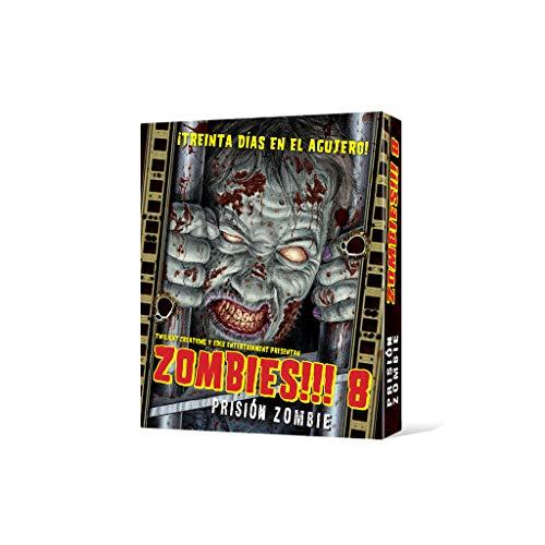Edge UBIZB08, Juego tablero - Zombies 8 Prisión zombie