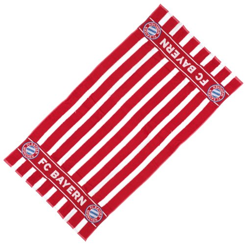 FC Bayern Duschtuch rot weiß 70x140 cm