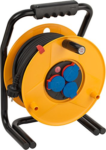 Price comparison product image Brennenstuhl Brobusta IP44for Industry/Construction Site Cable Drum 40m 1318940