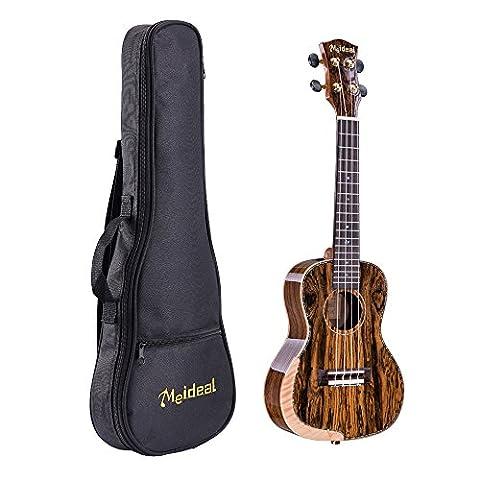 M G Fly Young Ukulele muh-19MEIDEAL Professional 61cm Akustische Konzert-Ukulele mit Gigbag für Professional 1Set