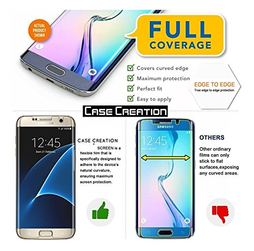 premium selection 734e0 0e79a Case Creation iPhone X Screen Guard, Apple iPhone X/iPhone 10 Full Screen  Coverage Screen Protector Buff Guard Front and Back
