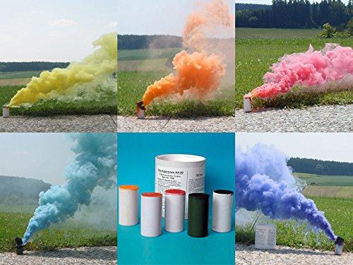 farbpulver Björnax AB Rauchpatronen AX-60 gemischt 5 Stück