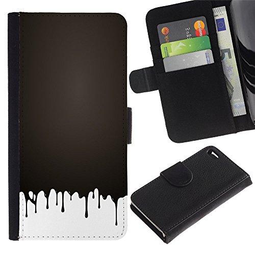 Graphic4You Praline Schokolade Design Brieftasche Leder Hülle Case Schutzhülle für Apple iPhone 4 und 4S Design #4